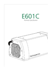 E601C  Tech Specification Brochure