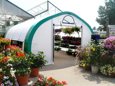 WeatherPort - Permanent and Seasonal Retail Greenhouses