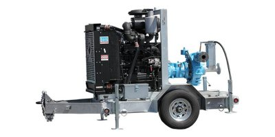 PowerPrime - Model XH80c - Trailer Mounted Pump
