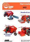 AMB Rousset - Model N02 - Harvester Datasheet