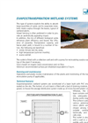 Evapotranspiration Wetland Systems Brochure