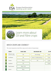 ESA_16.0119 Oil & Fibre Crops Factsheet- Brochure