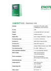 COMTEC - 6000 - Electronic Unit  - Technical Datasheet