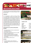 Brushing Machine Brochure
