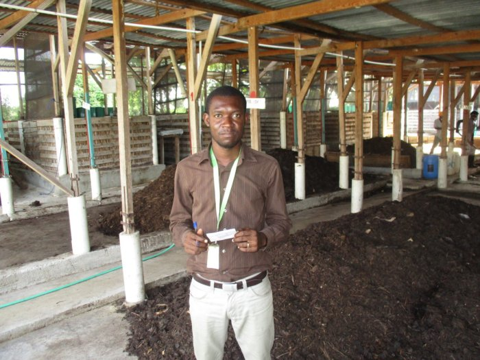 Meet Marckindy, SOIL's Composting Supervisor