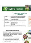 Natural Fertilizer Brochure