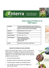 Enterra - Natural Fertilizer Brochure