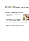 BiNutrix - Model Gold - Granular Powder for Poultry Bedding Brochure