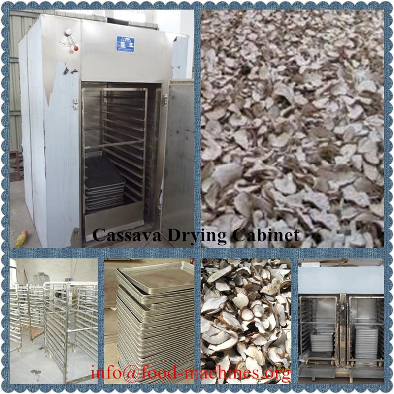 AZEUS - Stainless Steel Cassava Drying Cabinet Machine