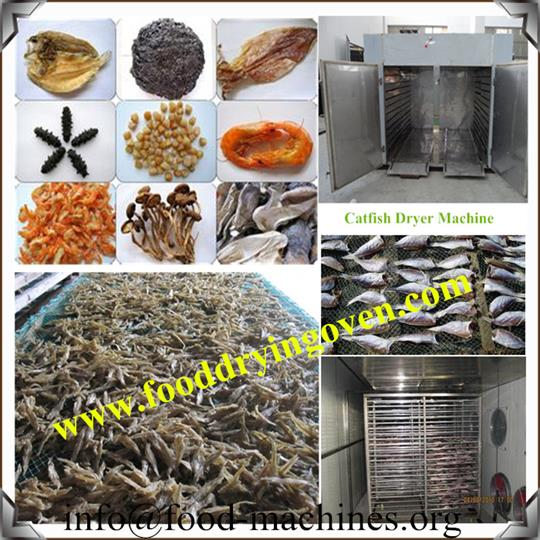 AZEUS - Catfish/Seafood Drying Machine
