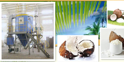 AZEUS - Model ZLPG-150 - Coconut Milk Powder Spray Dryer