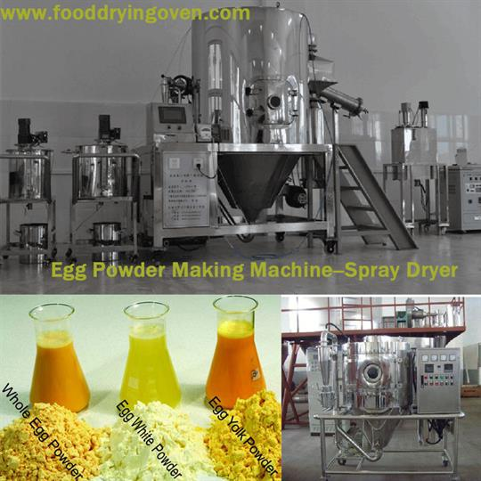 AZEUS - Egg Powder Making Machine-Spray Dryer