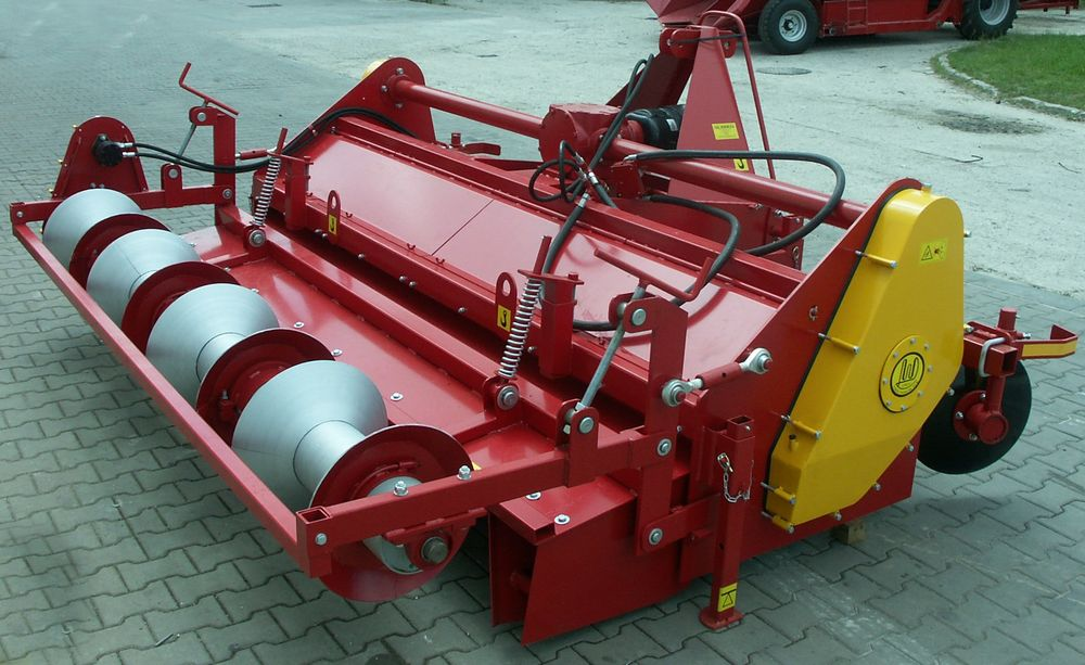 Ridge Forming Machine with Soil Miller-4
