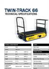 Track-O Twin-Track 66 - Material Handling Equipment - Technical Data Sheet