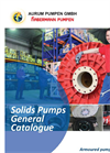 Solids Pumps General Catalogue
