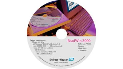ReadWin - Version 2000 - Device Parameterization and Online Visualization PC Software