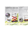 Hortitech - Model 4HD 6.00 - Hydraulic Trolley- Brochure