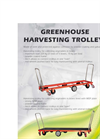 Harvesting Trolley Covered with MDF Board- Brochure