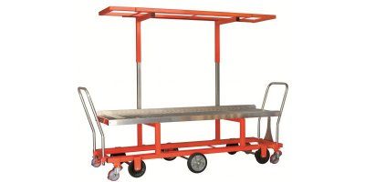 Two Leveled Harvesting Trolley