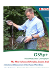 Model OS5p+ - Advanced Portable Modulated Chlorophyll Fluorometer - Brochure