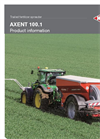 AXENT - Model 100.1 - Twin Disc Fertiliser Trailed Spreader  Brochure