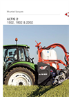 Kuhn - Model PF 1000 - 1500 - Integrated Sprayers Brochure