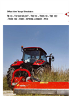 KUHN - Model TB 16 - Offset Arm Verge Shredders Brochure