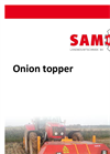 Samon - Open Haulm Topper - Brochure