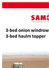 Samon - 3-bed Onion Harvester - Brochure