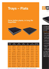 Flats and Trays Brochure