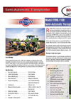 Model RTME-1100 - Semiautomatic Vegetable Transplanter Brochure