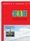 2IE - Engineering & Equipement for Irrigation - Brochure