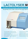 Lactotronic - Model MIRA - Milk Analyzer – Lactolyser - Brochure