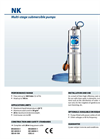 Pedrollo - Model NK - Multi-stage Submersible Pumps - Brochure