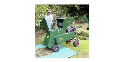 GreenShredder - 13hp Key Start Briggs & Stratton Engine Forester Shredder Chipper Deluxe