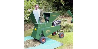 GreenShredder - 10hp Key Start Lombardini Diesel Engine Forester Shredder Chipper
