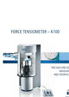 Model K100 - Force Tensiometer- Brochure