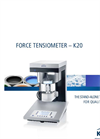 Model K20 - Force Tensiometer - Brochure