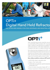 OPTi - Digital Hand Held Refractometers - Brochure