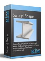 Kim - Version 7/8/8.1/10 - Autocad Steel Shapes Software