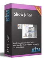 Kim - Inventor Work Plane Visibility Software