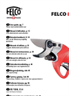 Felco - Model 801-HP - Electro Portable Pruning Shears Brochure