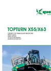 Topturn - Model X55 - Compost Turner for Triangular Windrows- Brochure