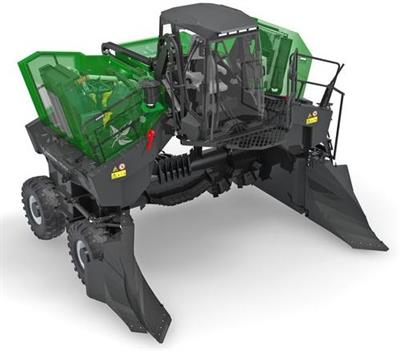 Komptech Topturn - Model X4500 - Compost Turner for Triangular Windrows