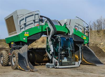 Topturn - Model X Series - Compost Windrow Turners