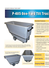 Model P-405 Series - Tilt Trucks Carts Brochure