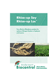Rhize-up Luc - Bacterial Bioinoculant - Brochure