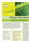 LITHOvit STANDARD - Foliar and Soil Fertilizer- Brochure