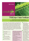 LITHOvit UREA - Model 50 -Foliar Fertilizer- Brochure