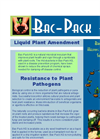 Bac-Pack - Model AG - Beneficial Rhizobacteria Seed / Root Inoculant- Brochure